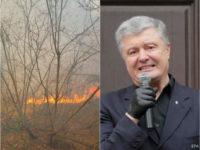 Лесные пожары в Луганской области признали ЧП регионального уровня, одно из дел против Порошенко закрыли. Главное за день