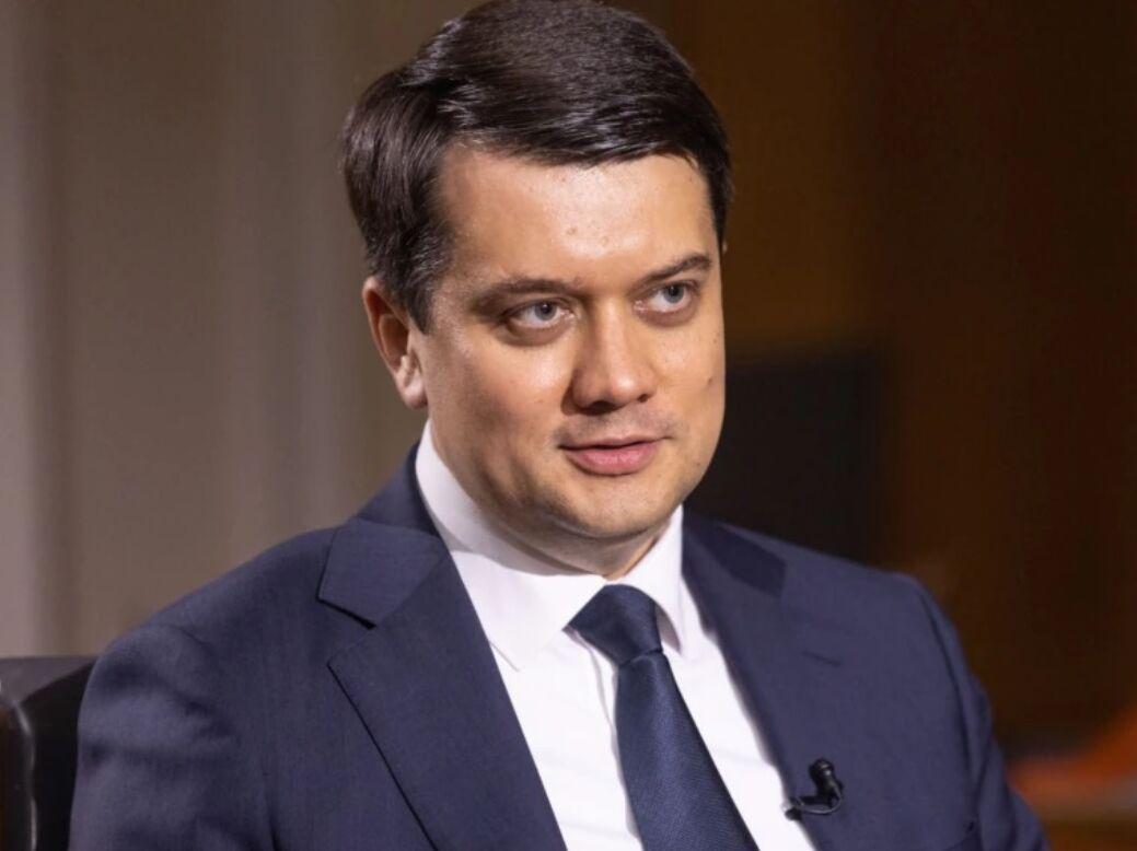 Рада может принять законопроект Зеленского об олигархах в первом чтении на следующей неделе – Разумков