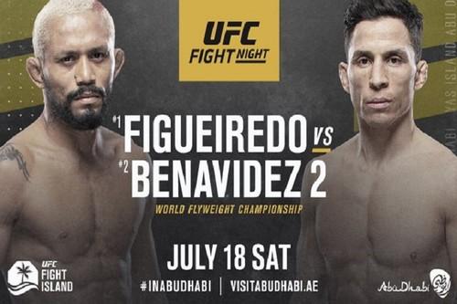 Где смотреть онлайн UFC: Дейвисон Фигейреду – Джозеф Бенавидес